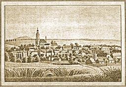 Stich von Mahlis 1830