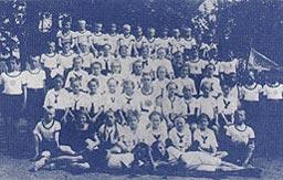 Kindergruppe des Mahliser Turnvereins 1925