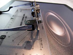 一般眼鏡店の試験枠(トライアルフレーム)/フレームカーブ1カーブ