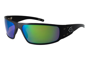 ゲイターズ アイウェア(MAGNUM2.0 Black Frame/Green Mirror Polarized Lenses/¥26,000 税別)