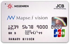 「Mapse.f vision」JCBカード