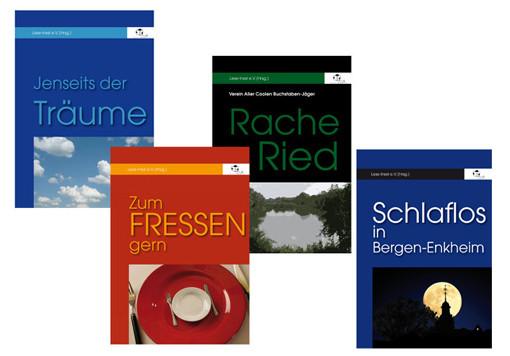 Titel- und Innengestaltung für Buchserie Leseinsel e.V.