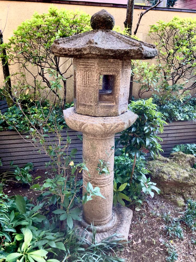 柚ノ木 燈籠