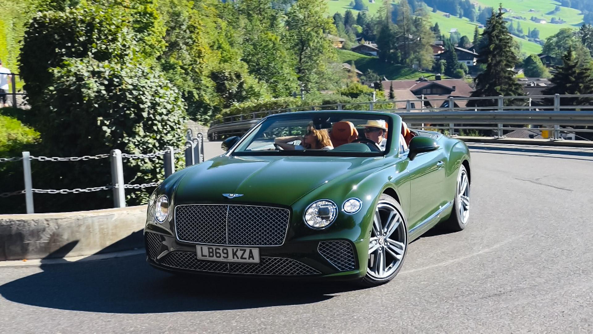 Bentley Continental GTC - LB69-KZA (GB)
