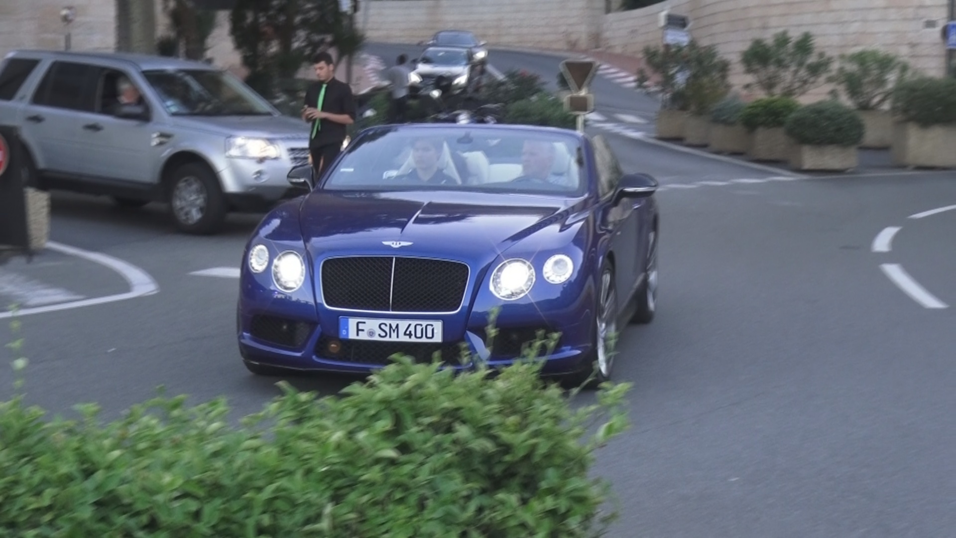 Bentley Continental GTC W12 - F-SM-400