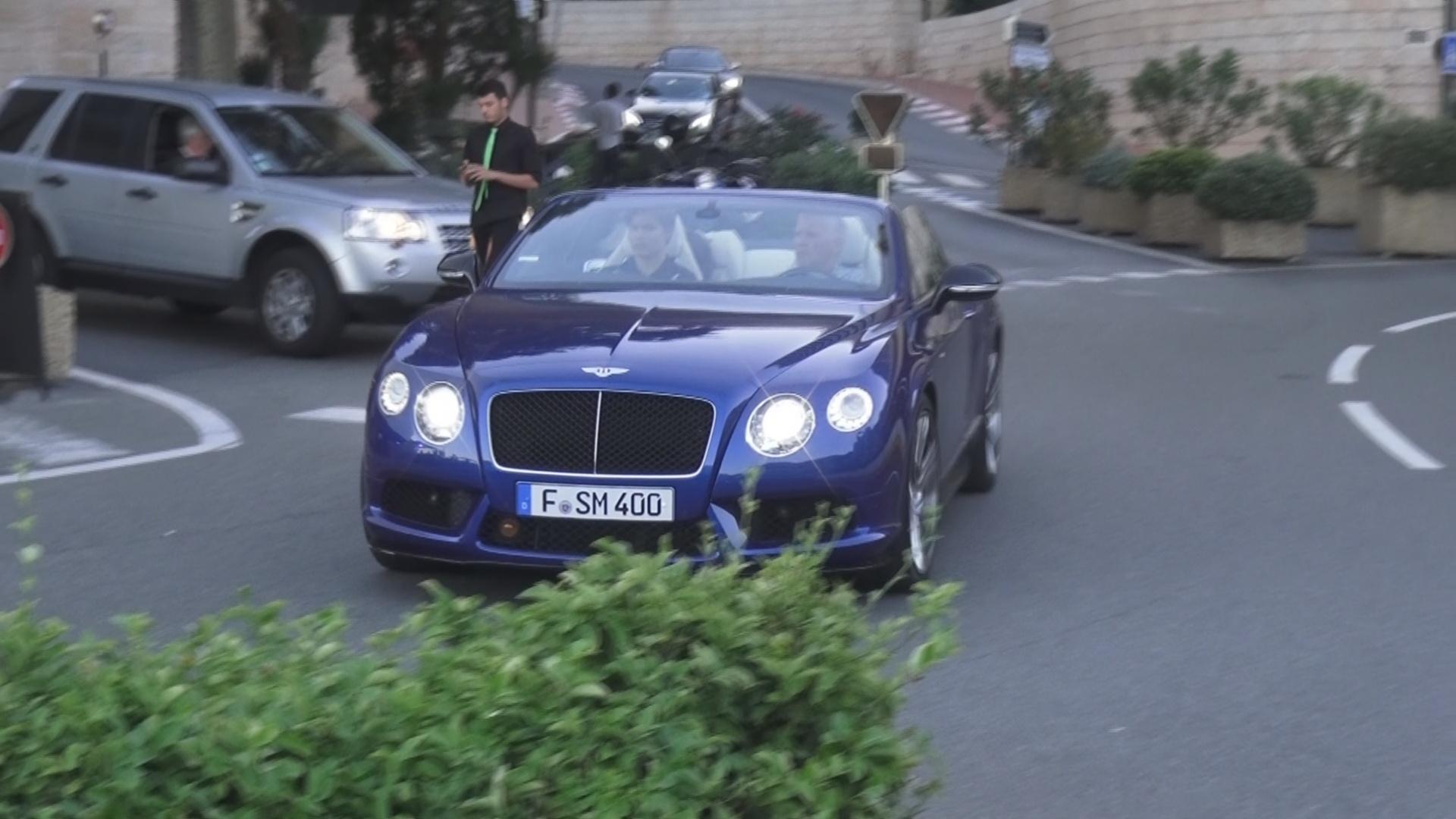 Bentley Continental GTC W12 - F-SM-400