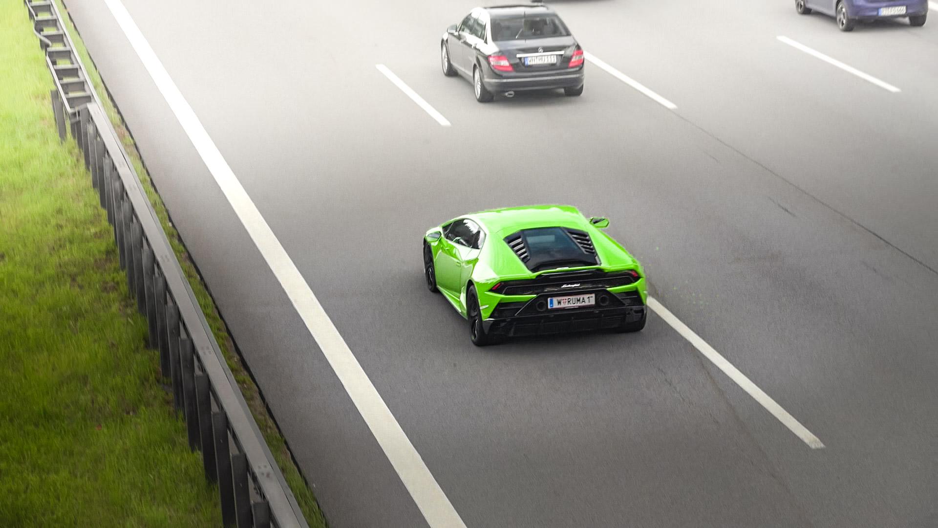 Lamborghini Huracan Evo - W-RUMA-1 (AUT)