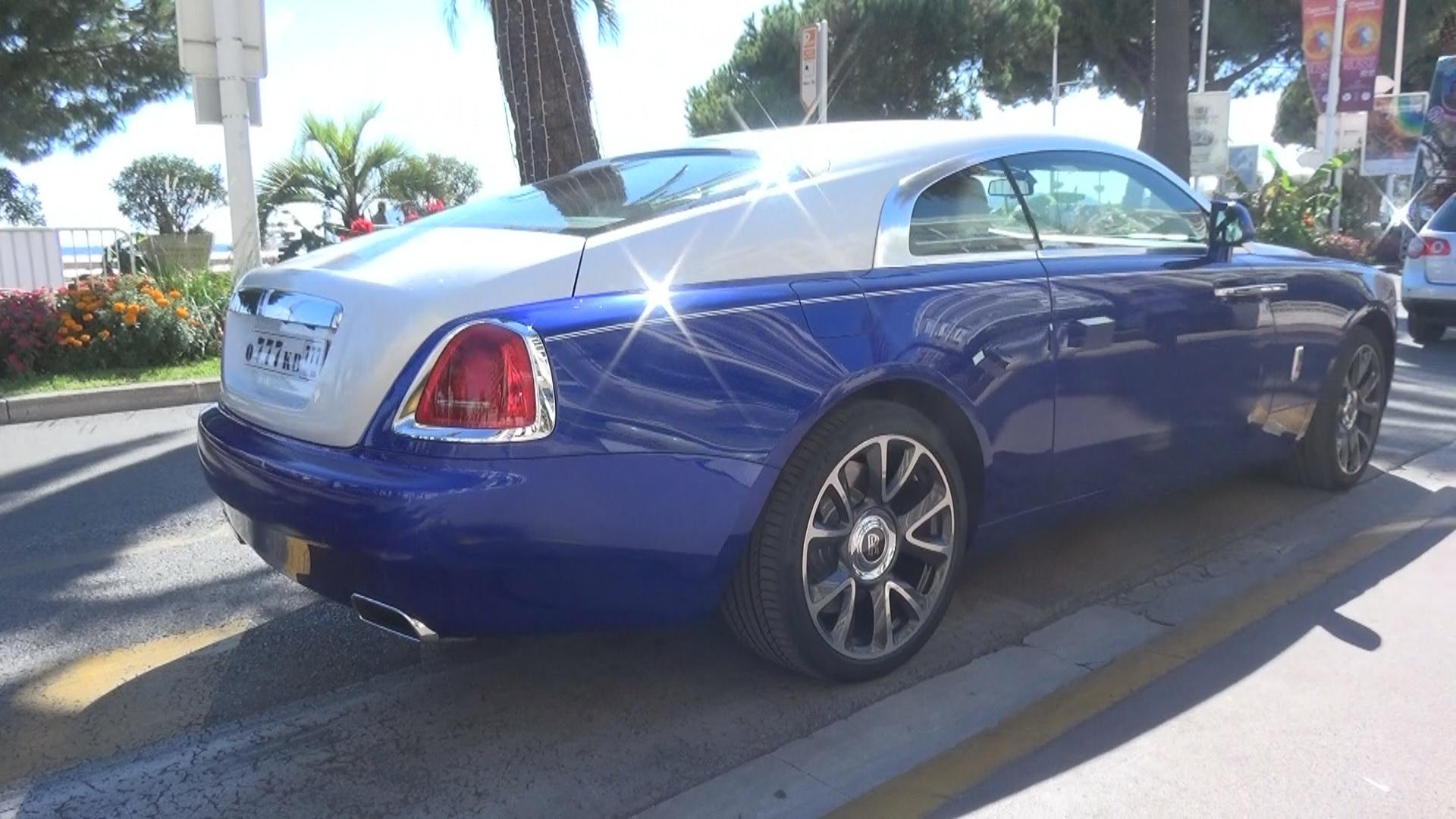 Rolls Royce Wraith - 0-777-KB-777