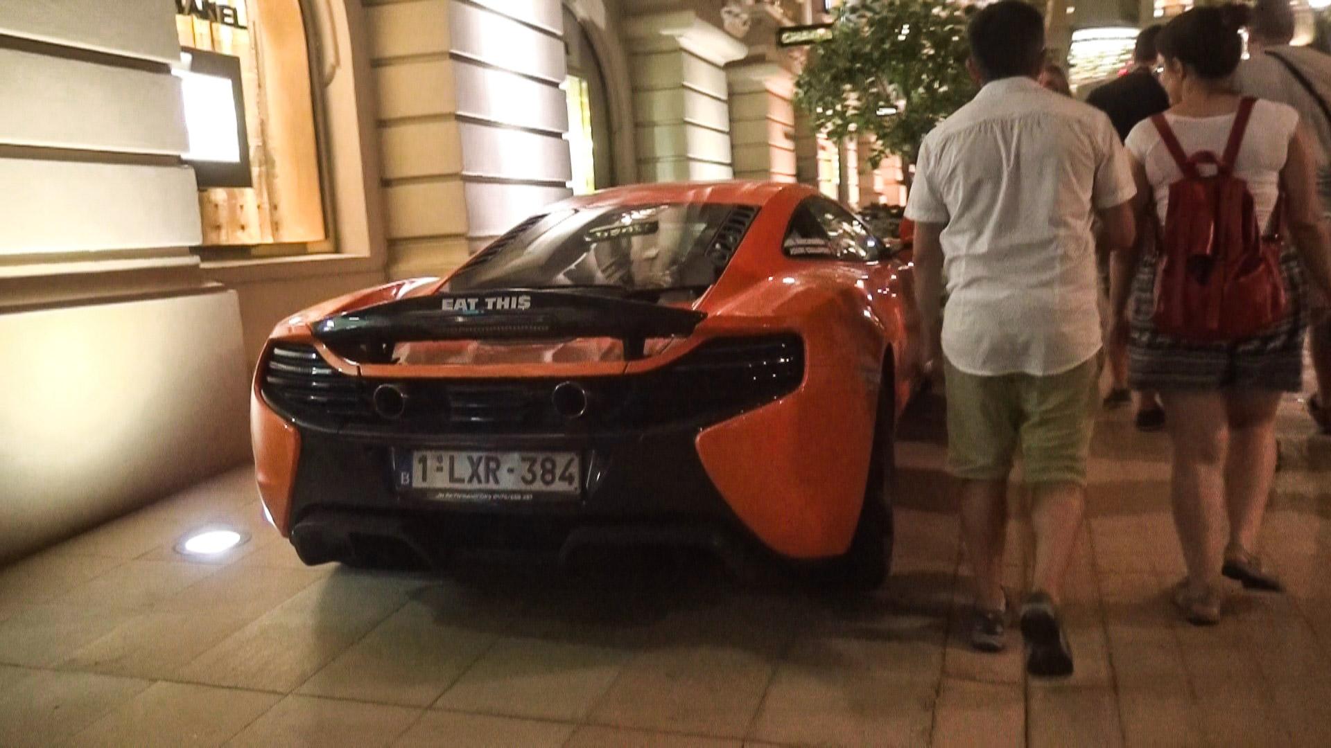 McLaren 675 LT  - 1-LXR-384 (BEL)