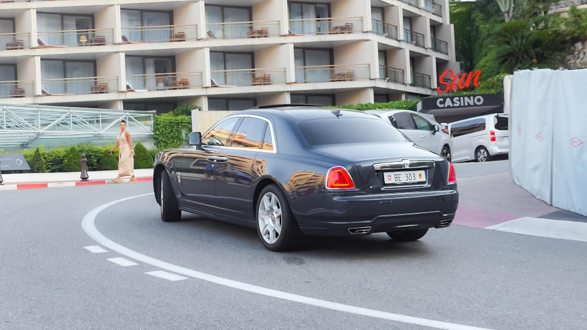 Rolls Royce Ghost - BE-303 (CH)