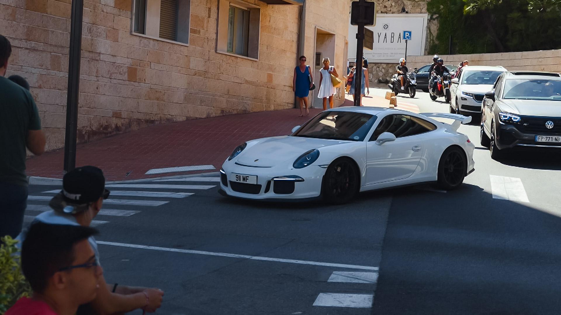 Porsche 991 GT3 - 911-MF (GB)