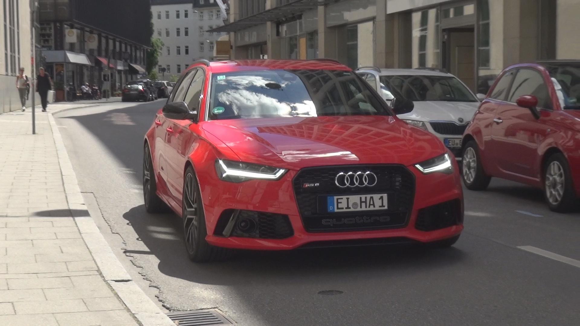 Audi RS6 - EI-HA-1