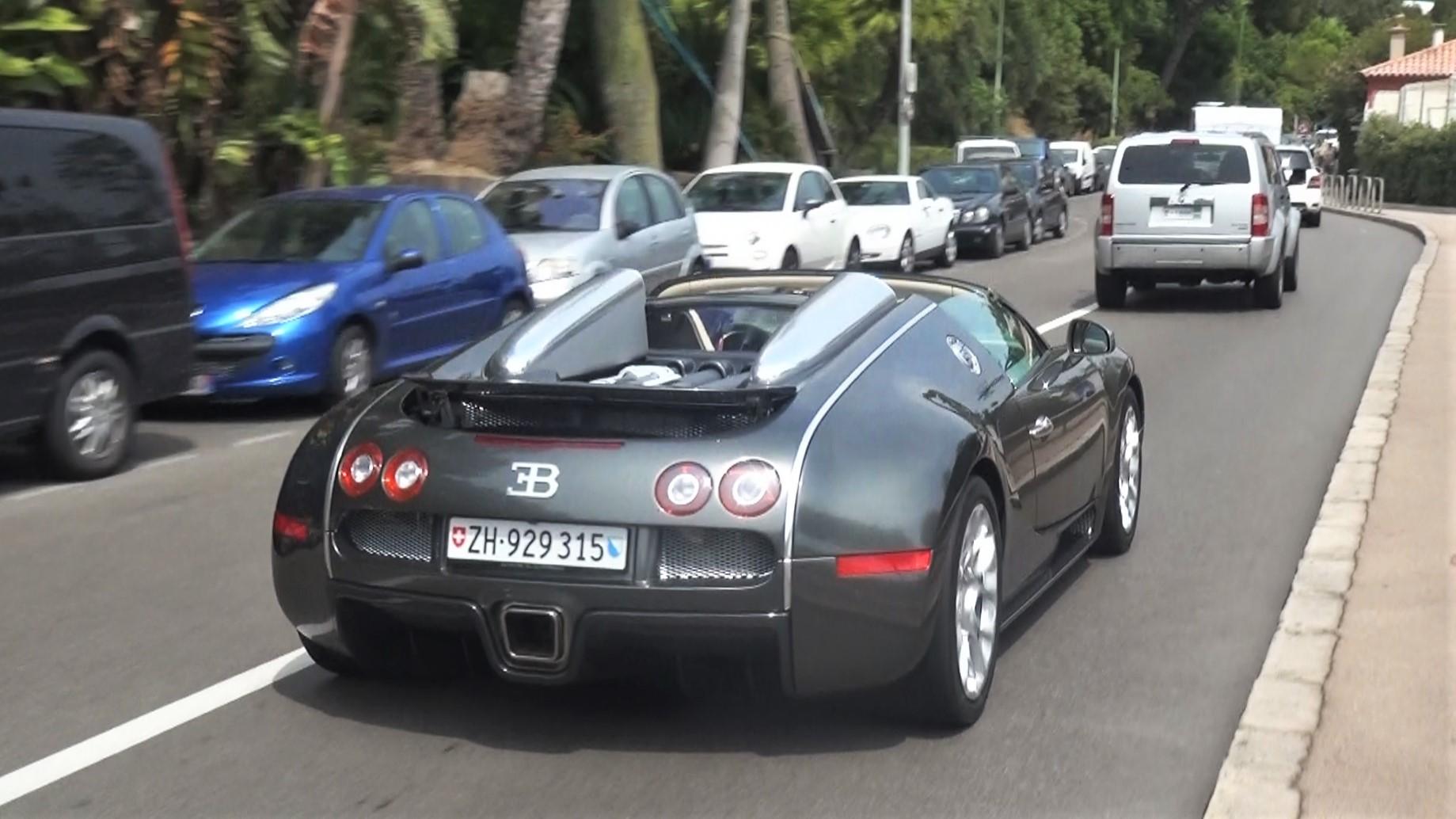 Bugatti Veyron Grand Sport - ZH-929315 (CH)