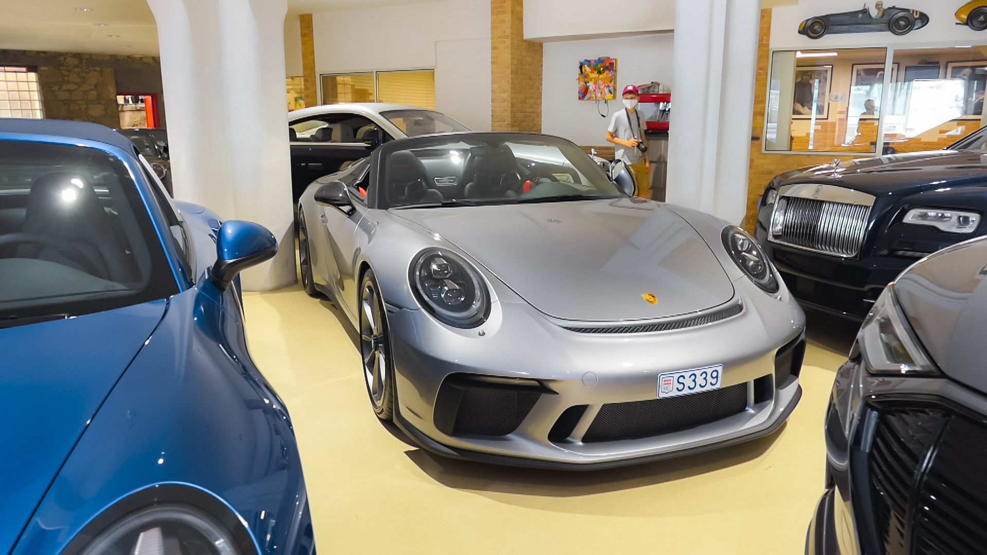 Porsche 991 Speedster - S339 (MC)