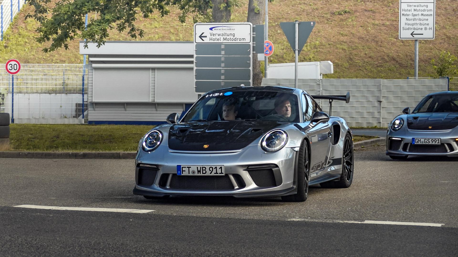 Porsche 911 991.2 GT3 RS - FT-WB-911
