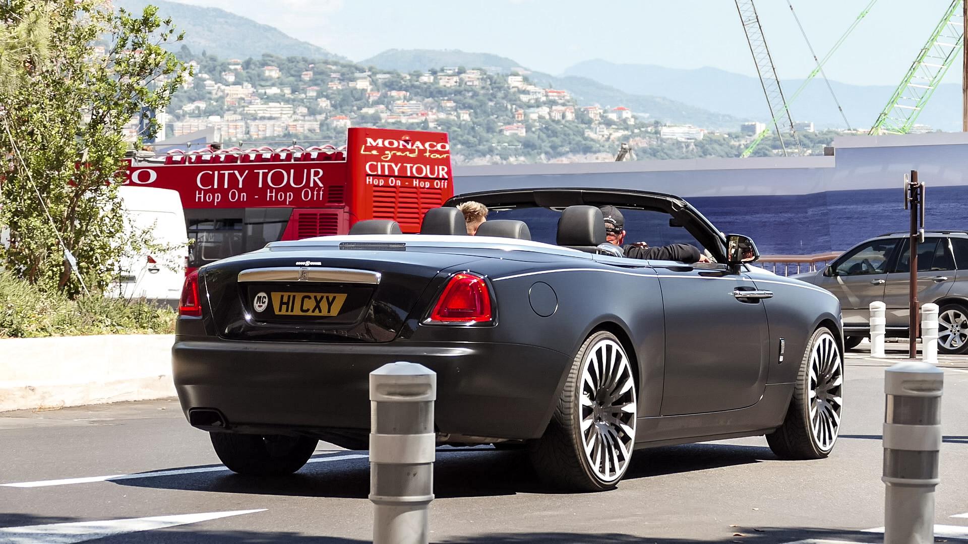 Rolls Royce Dawn - HI-CXY (GB)