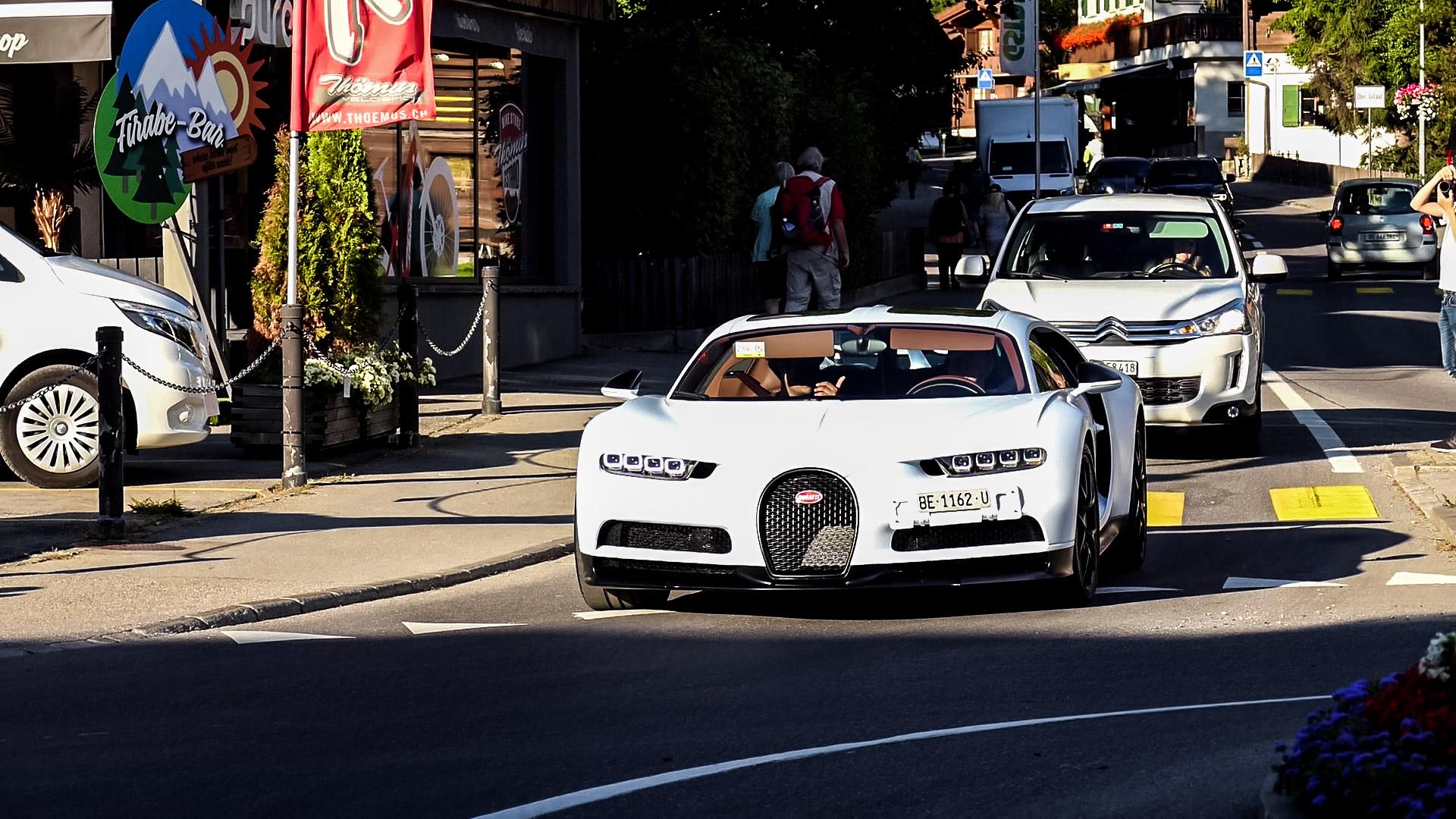 Bugatti Chiron Sport - BE-1162-U (CH)