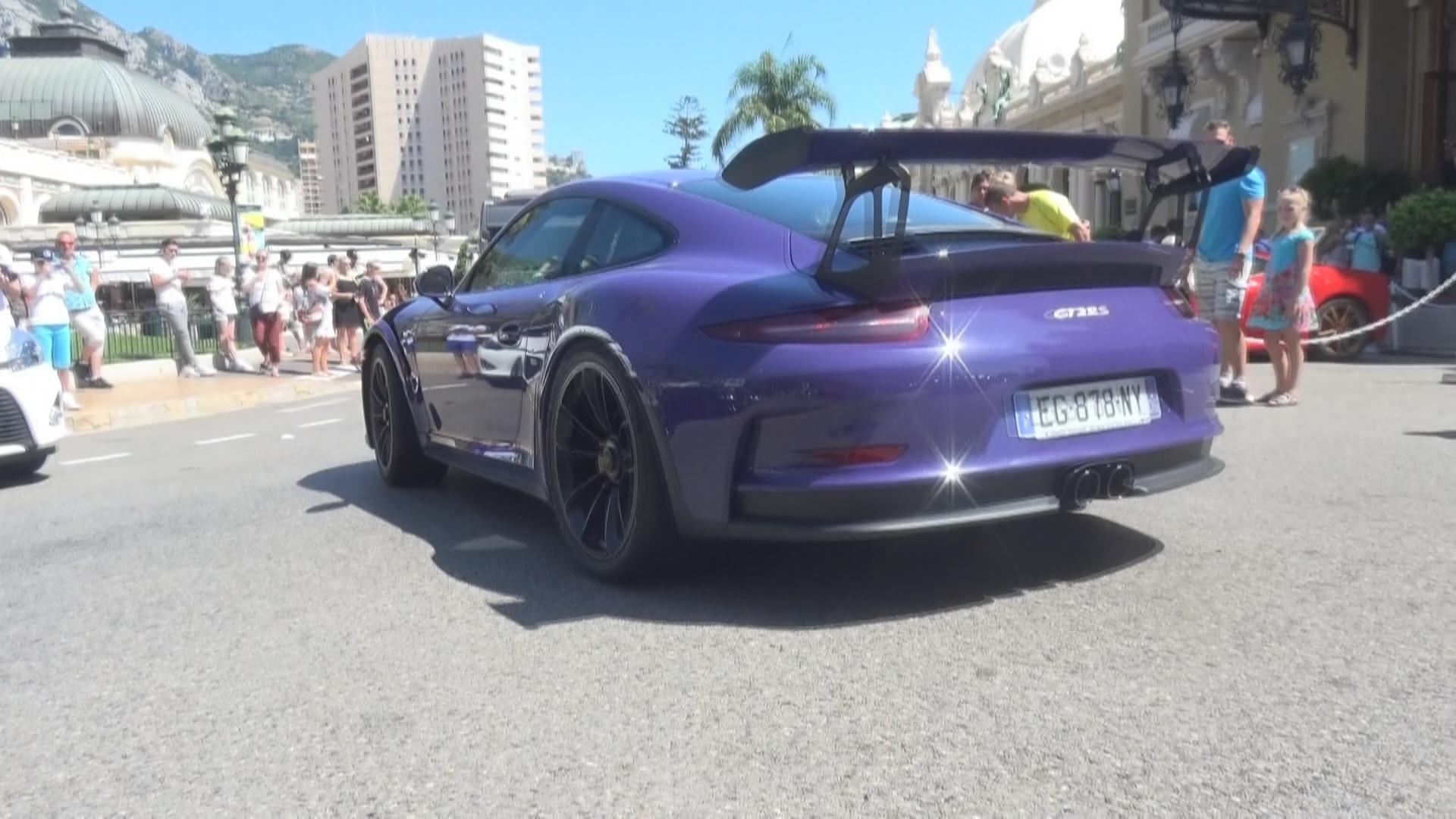 Porsche 911 GT3 RS - EG-878-NY-06 (FRA)