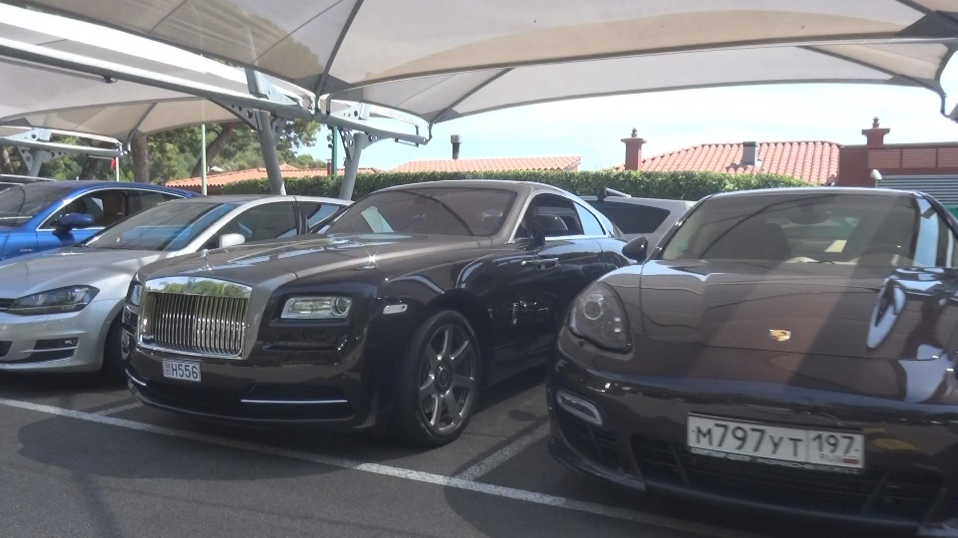 Rolls Royce Wraith - H556 (MC)