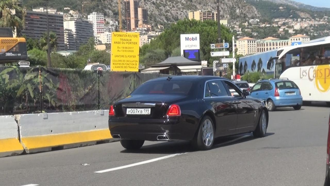 Rolls Royce Ghost - Y-007-KB-199 (RUS)