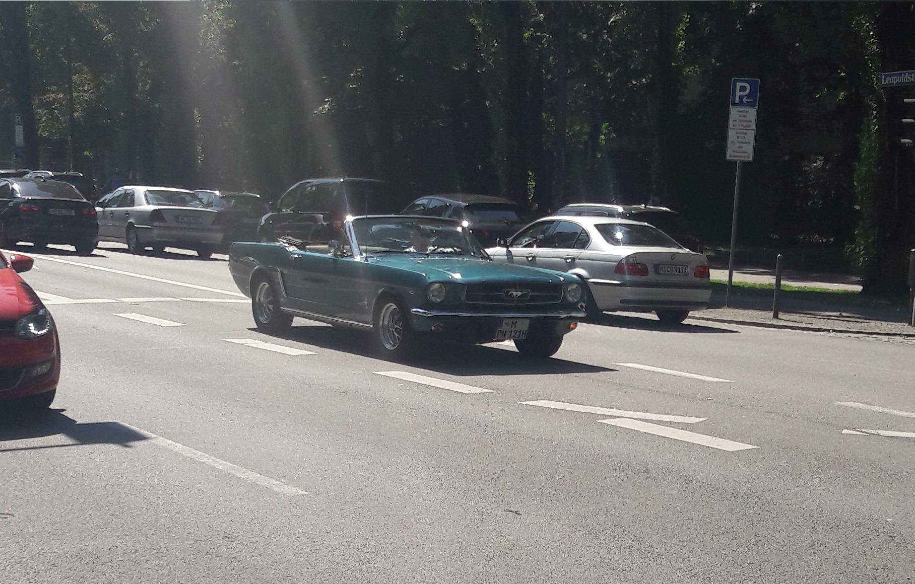 Mustang I Cabriolet - M-PN-121H