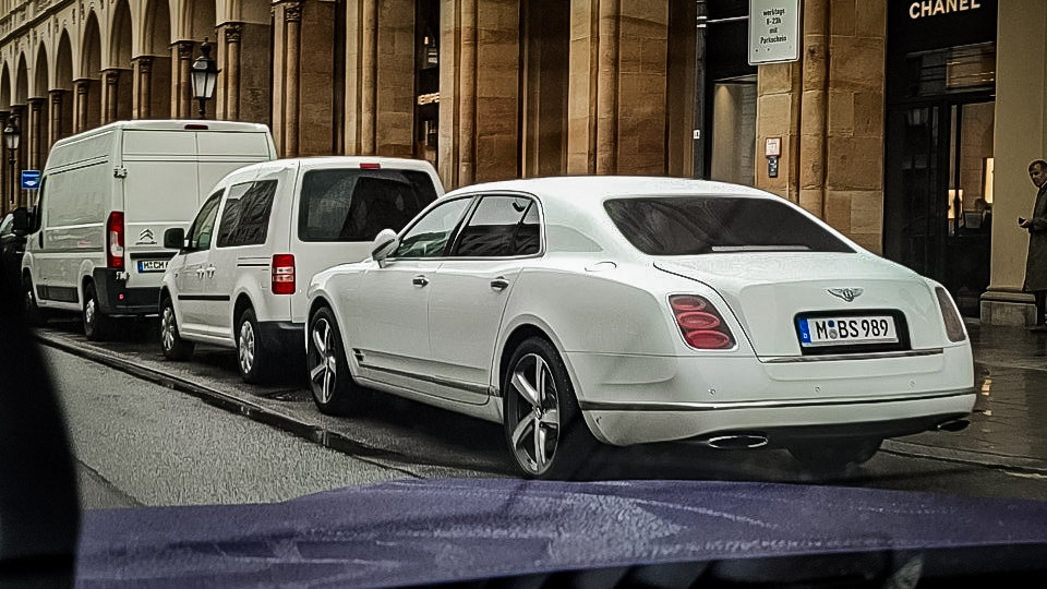 Bentley Mulsanne - M-BS-989