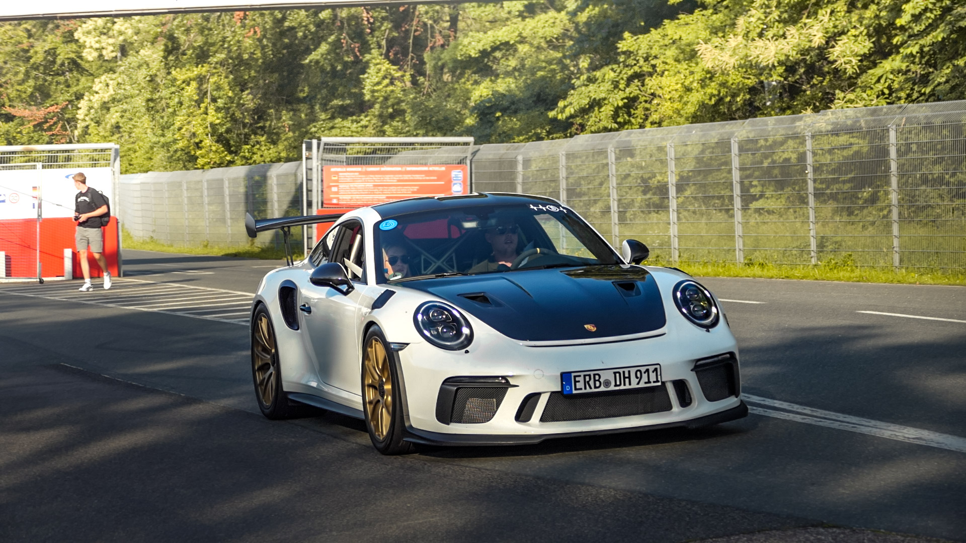 Porsche 911 991.2 GT3 RS - ERB-DH-911