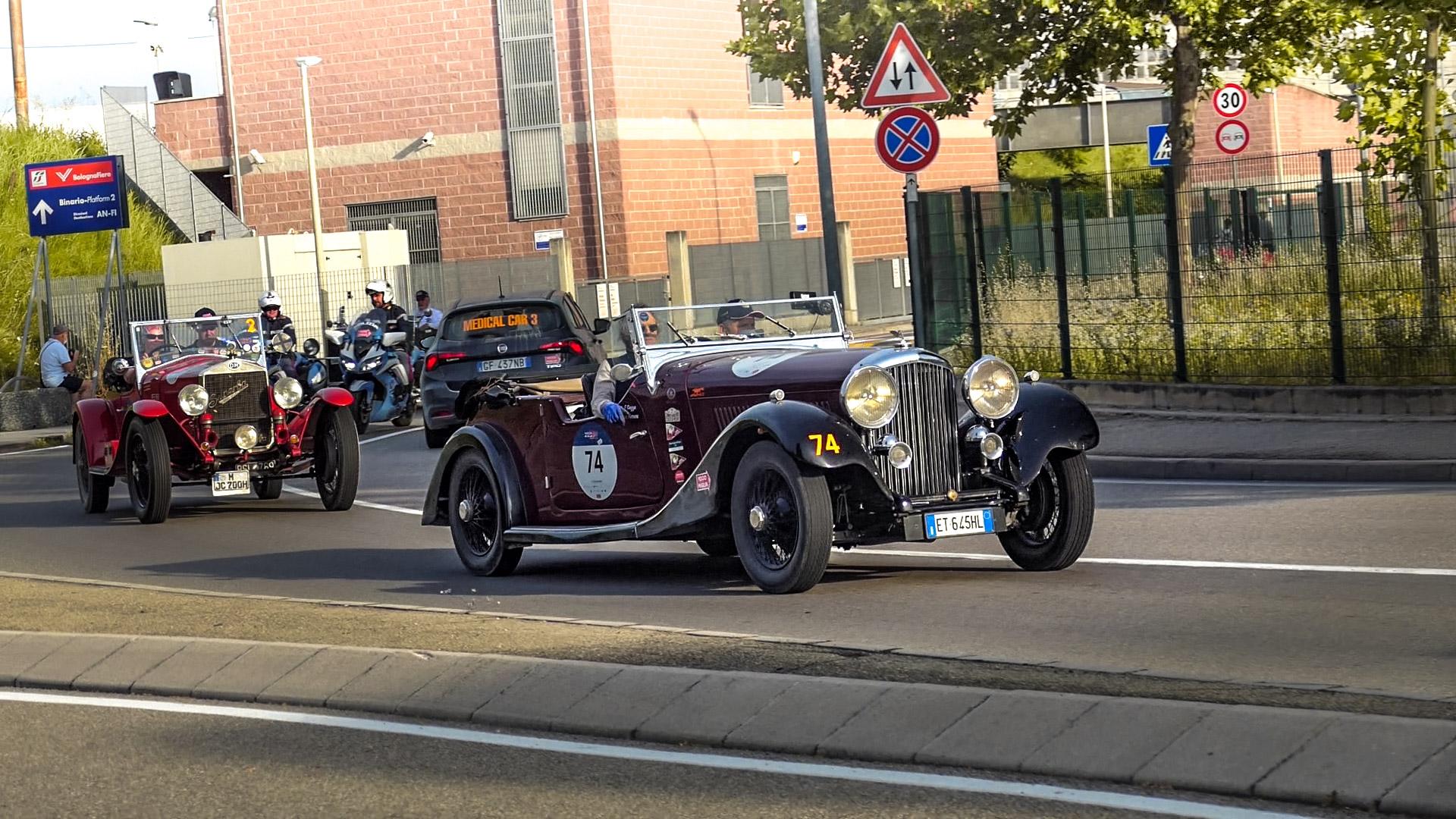Bentley 3 1/2 Litre Derby - ET-645-HL (ITA)