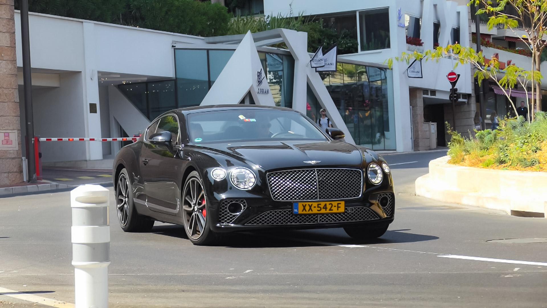 Bentley Continental GT - XX-542-F (NL)
