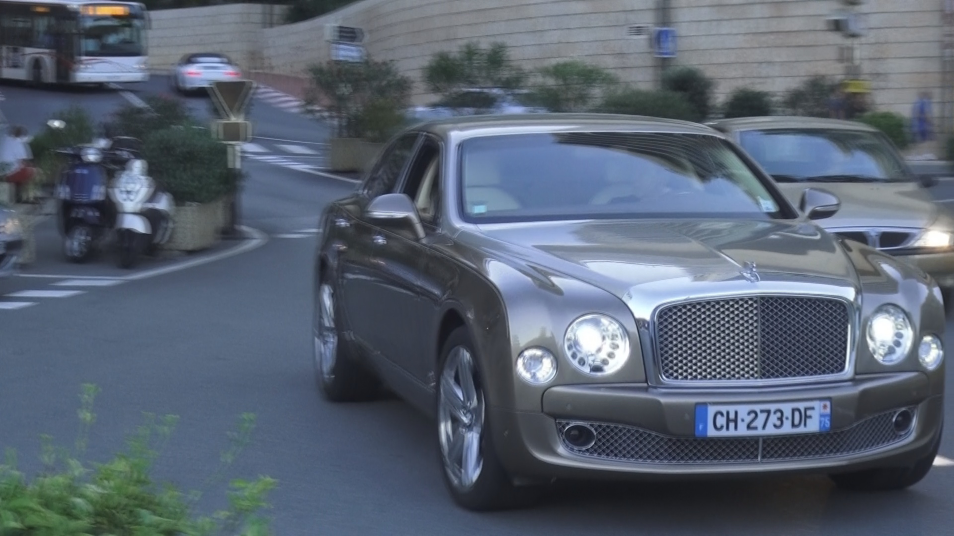 Bentley Mulsanne - CH-273-DF (FRA)