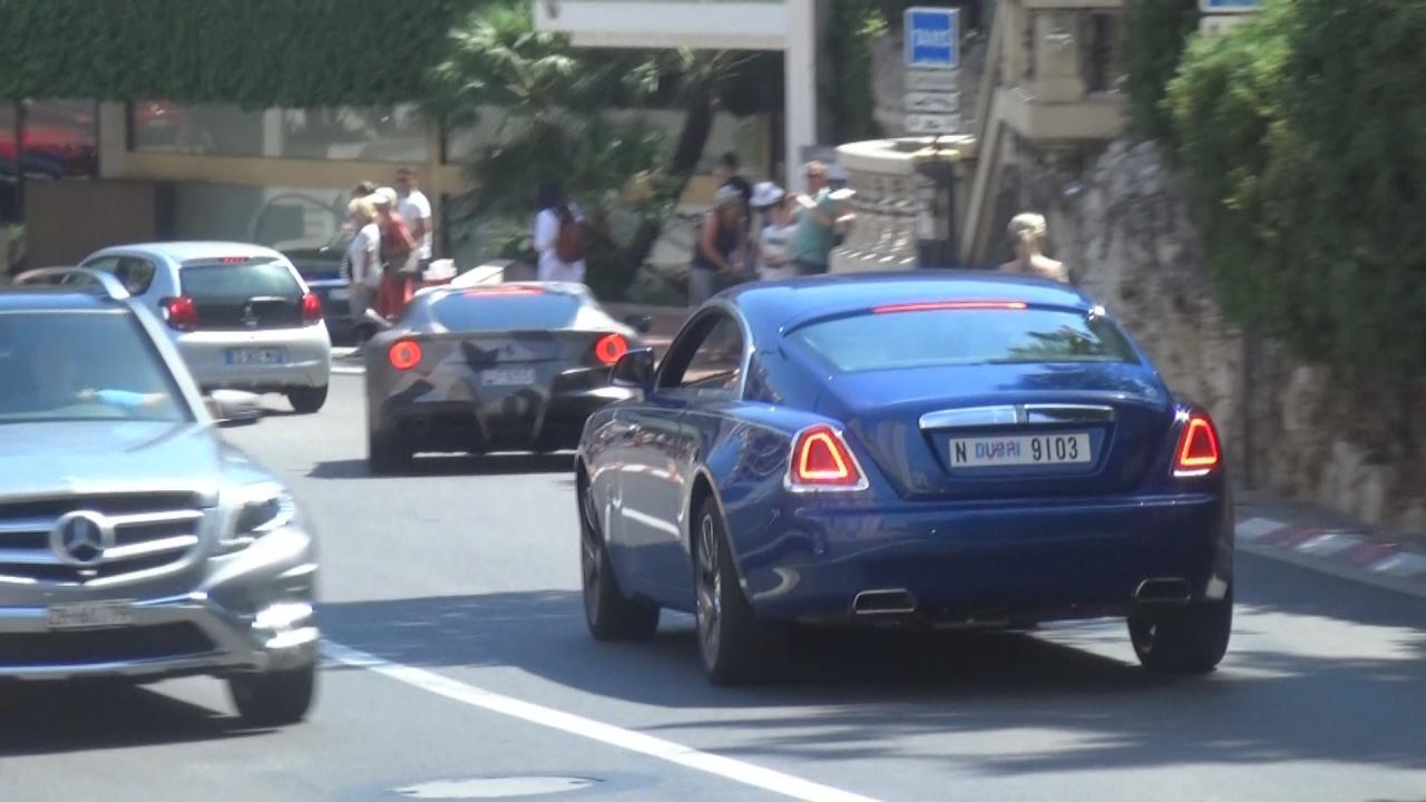 Rolls Royce Wraith - N-9103 (Dubai)