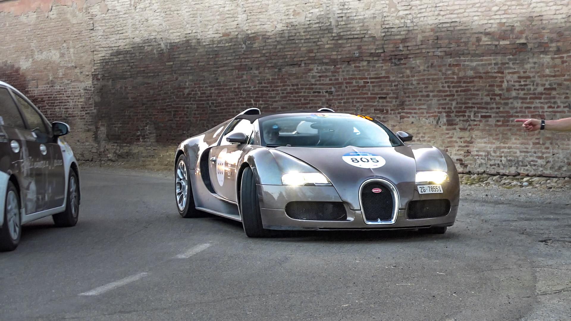 Bugatti Veyron Grand Sport - ZG-78551 (CH)