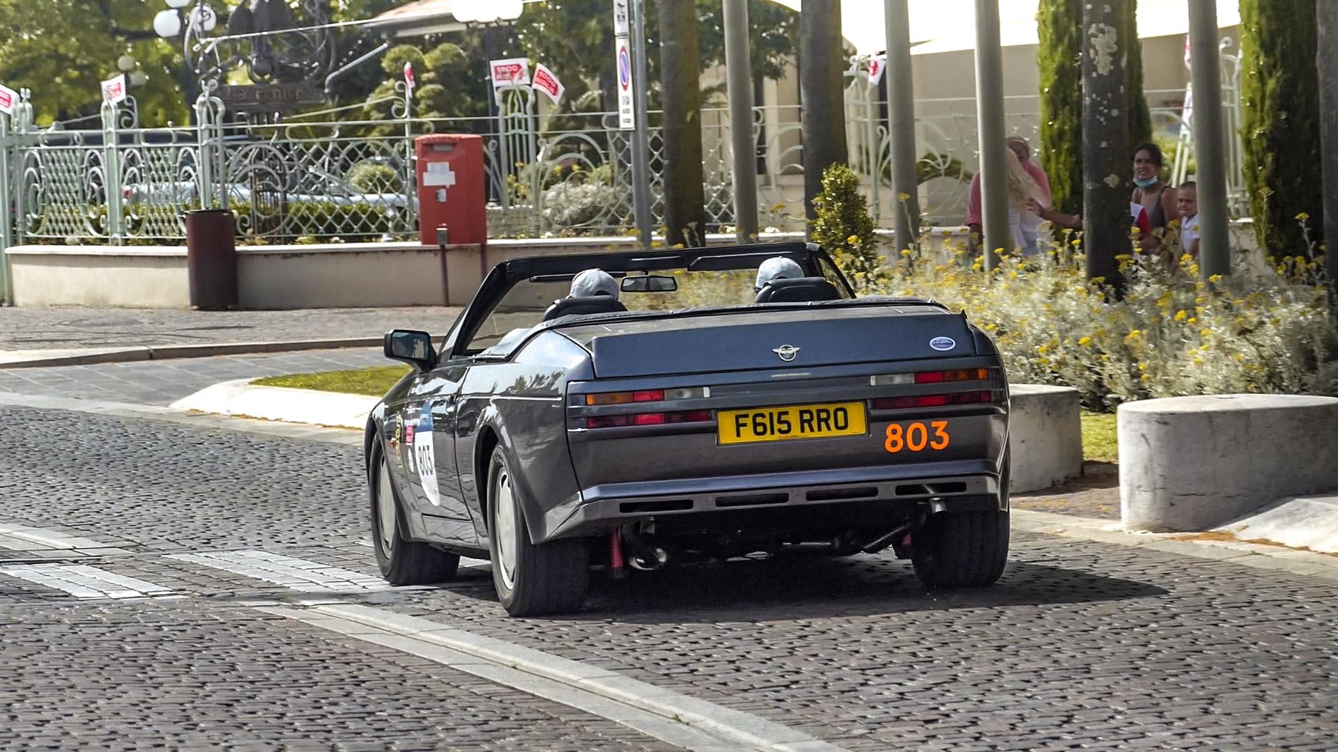 Aston Martin V8 Zagato Volante - F615-RRO (GB)