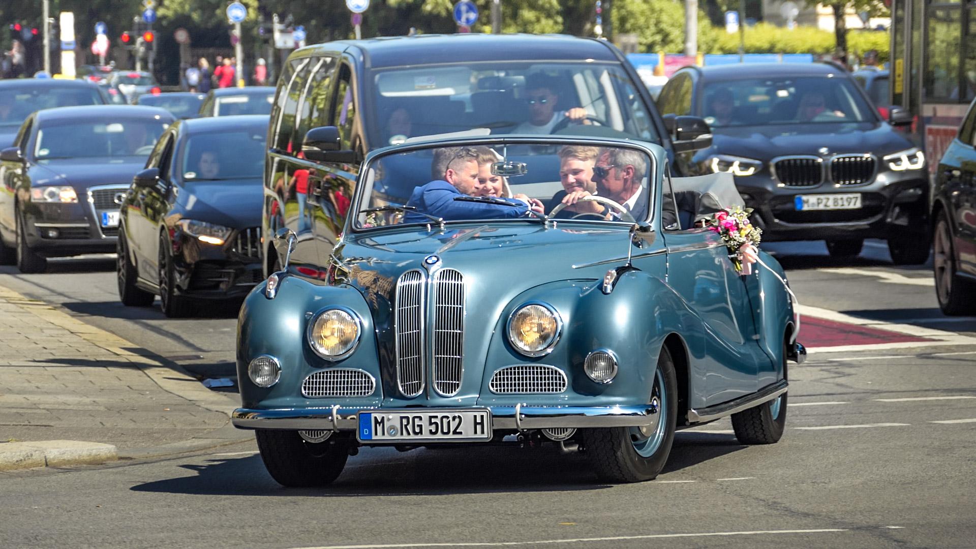 BMW 502 Cabriolet - M-RG-502H