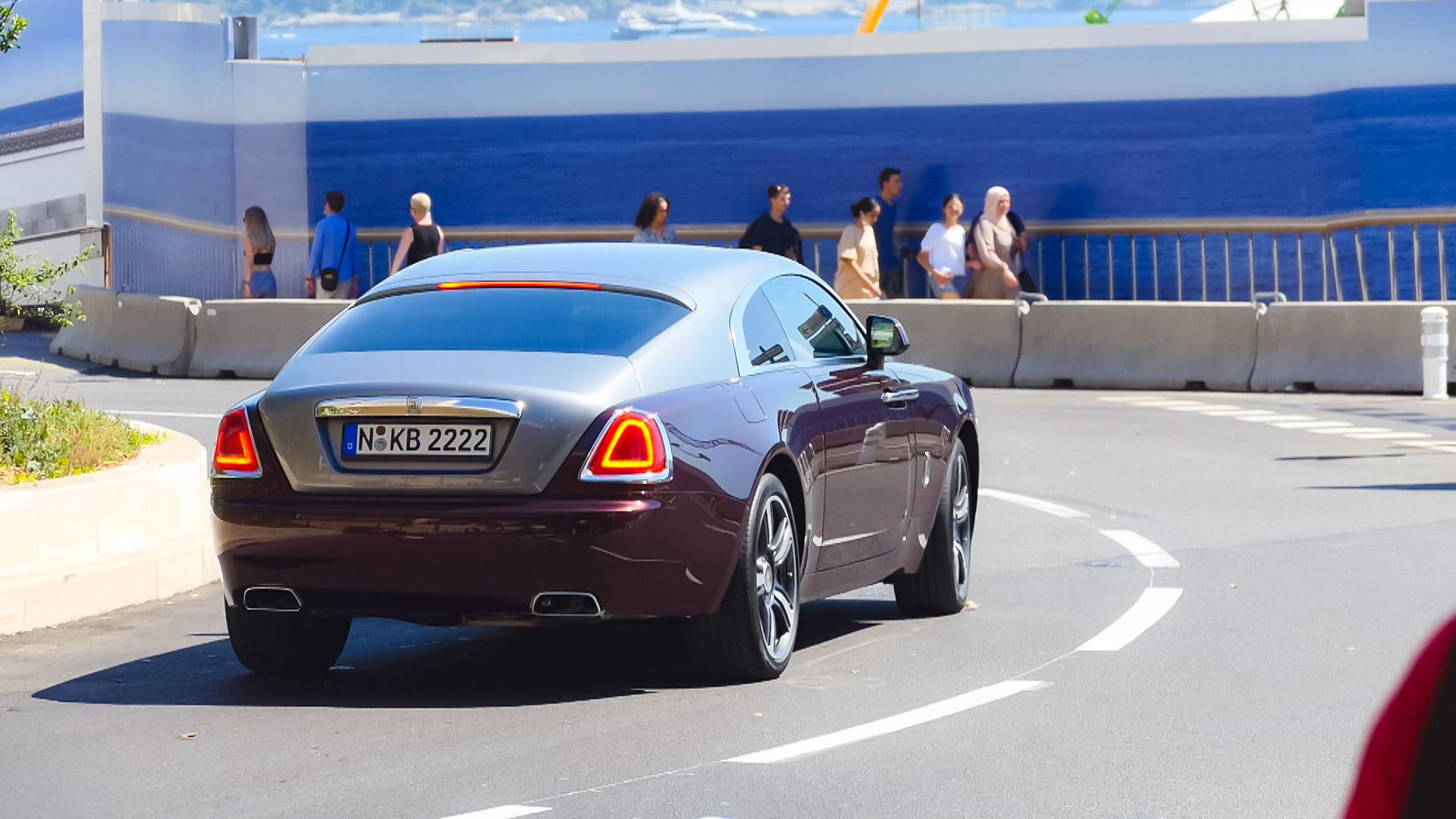 Rolls Royce Wraith - N-KB-2222