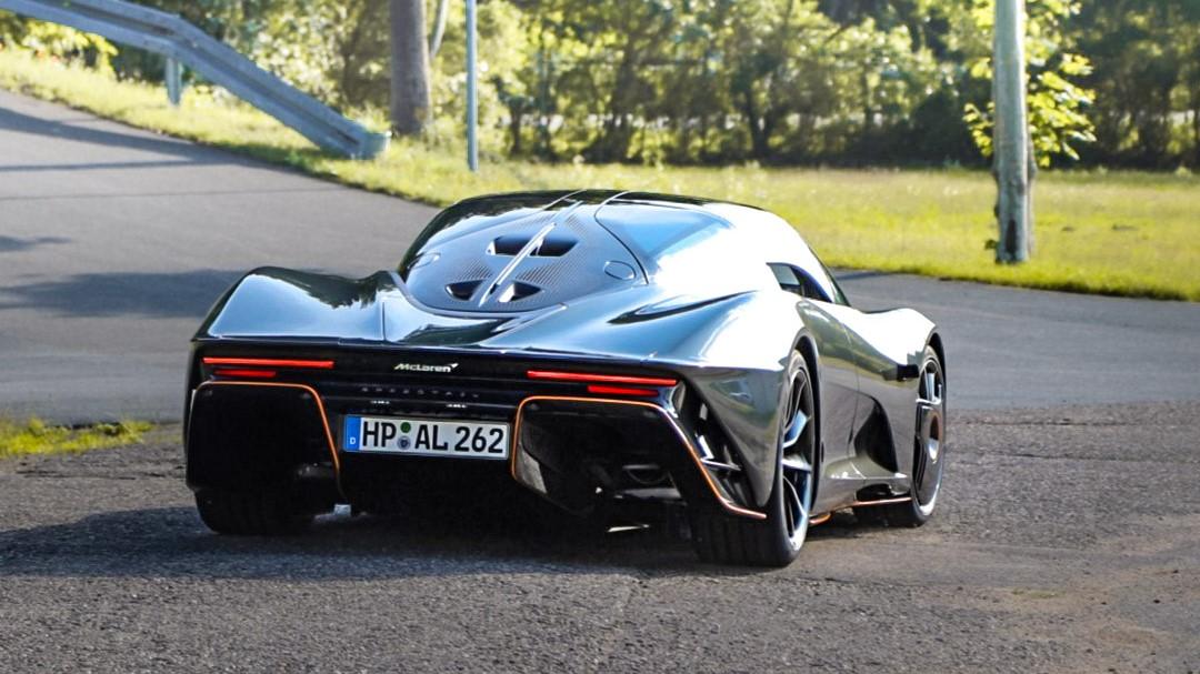 McLaren Speedtail - HP-AL-262