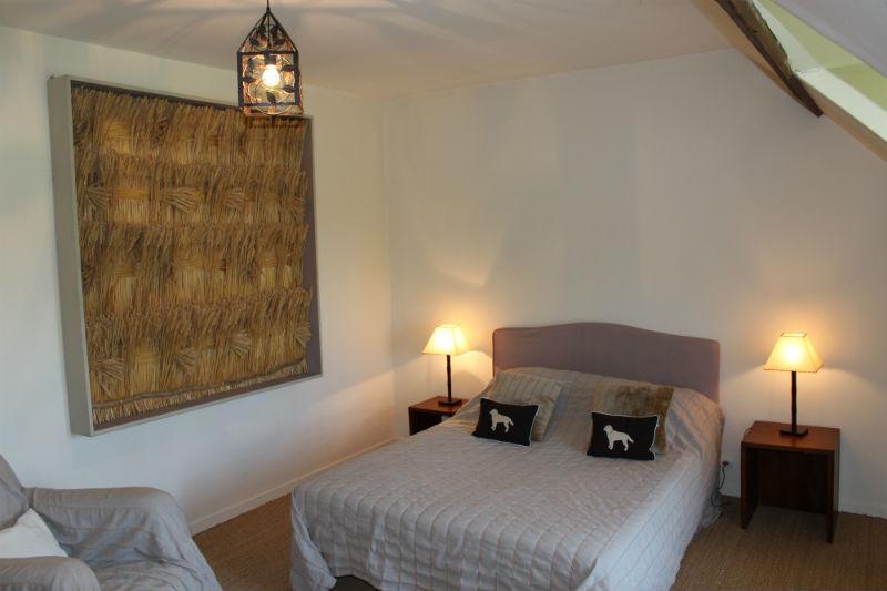 Chambre Epi de Blé  -1 lit double 160X200 -Gîte La Pouprière - 14 couchages