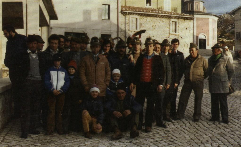 Foto Storiche del Gruppo Alpini di Pietransieri