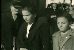 Virginia e Pia nella 1^ Edizione del Presepe Vivente 1951