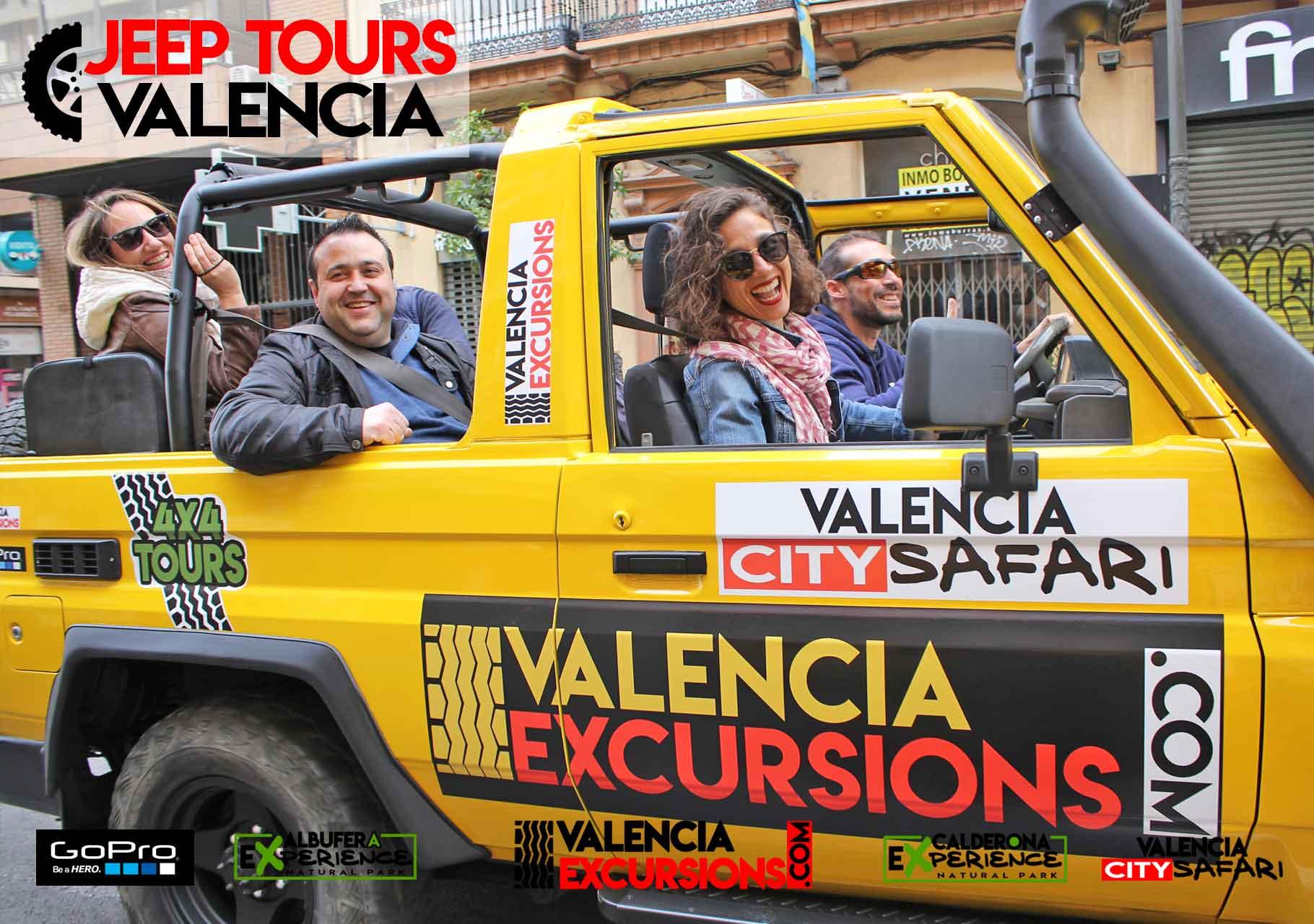 Valencia jeep excursions
