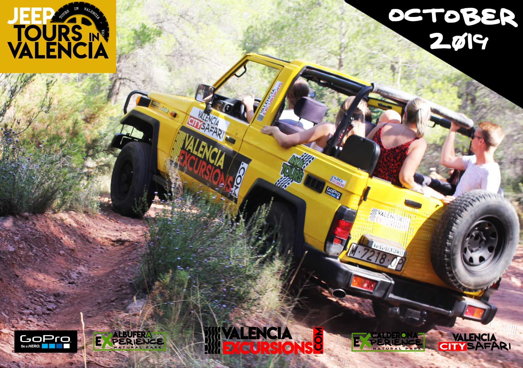 valencia adventure 4x4 mountain tour