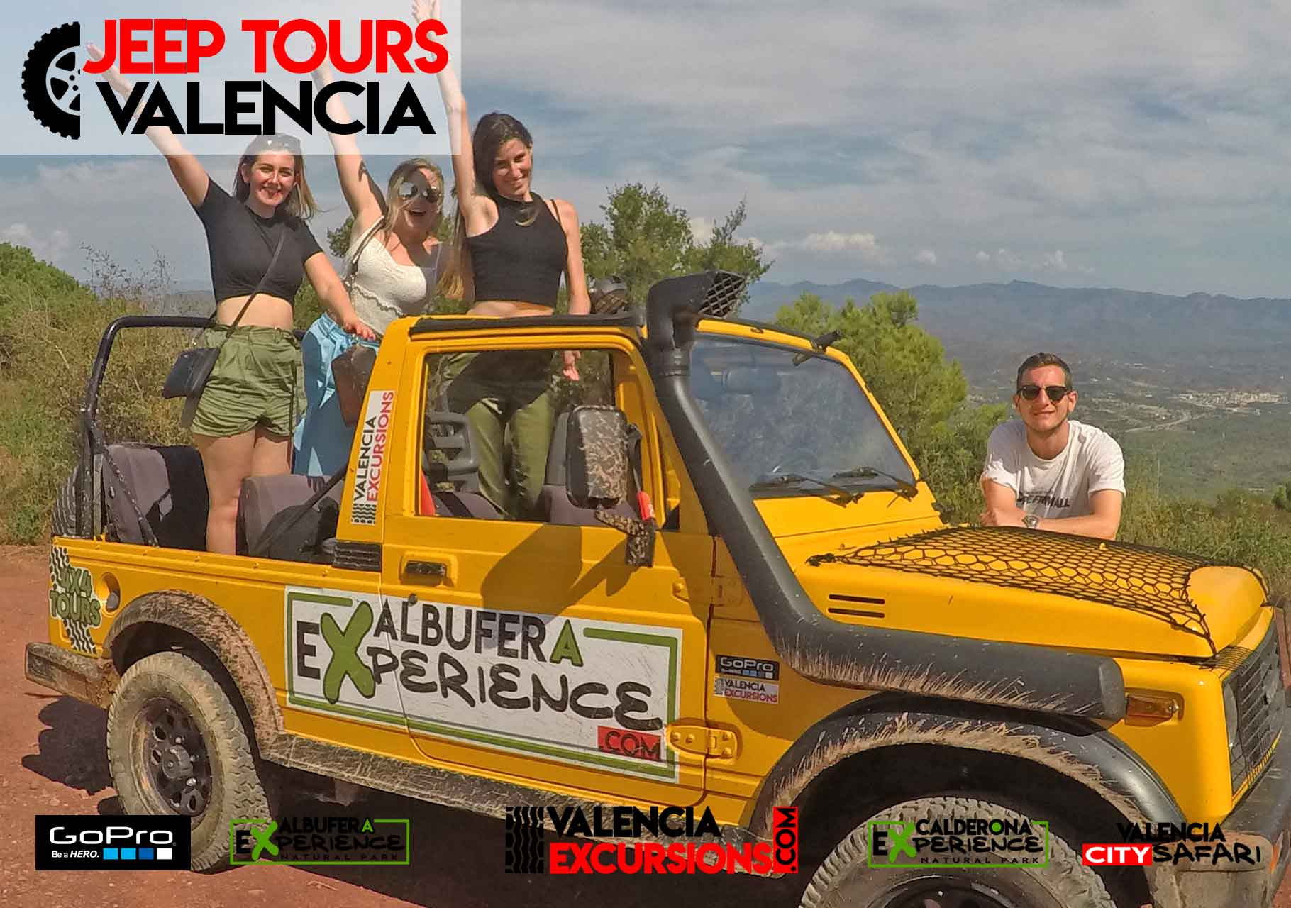 Albufera NAtional Park excursions with jeeps in VAlencia