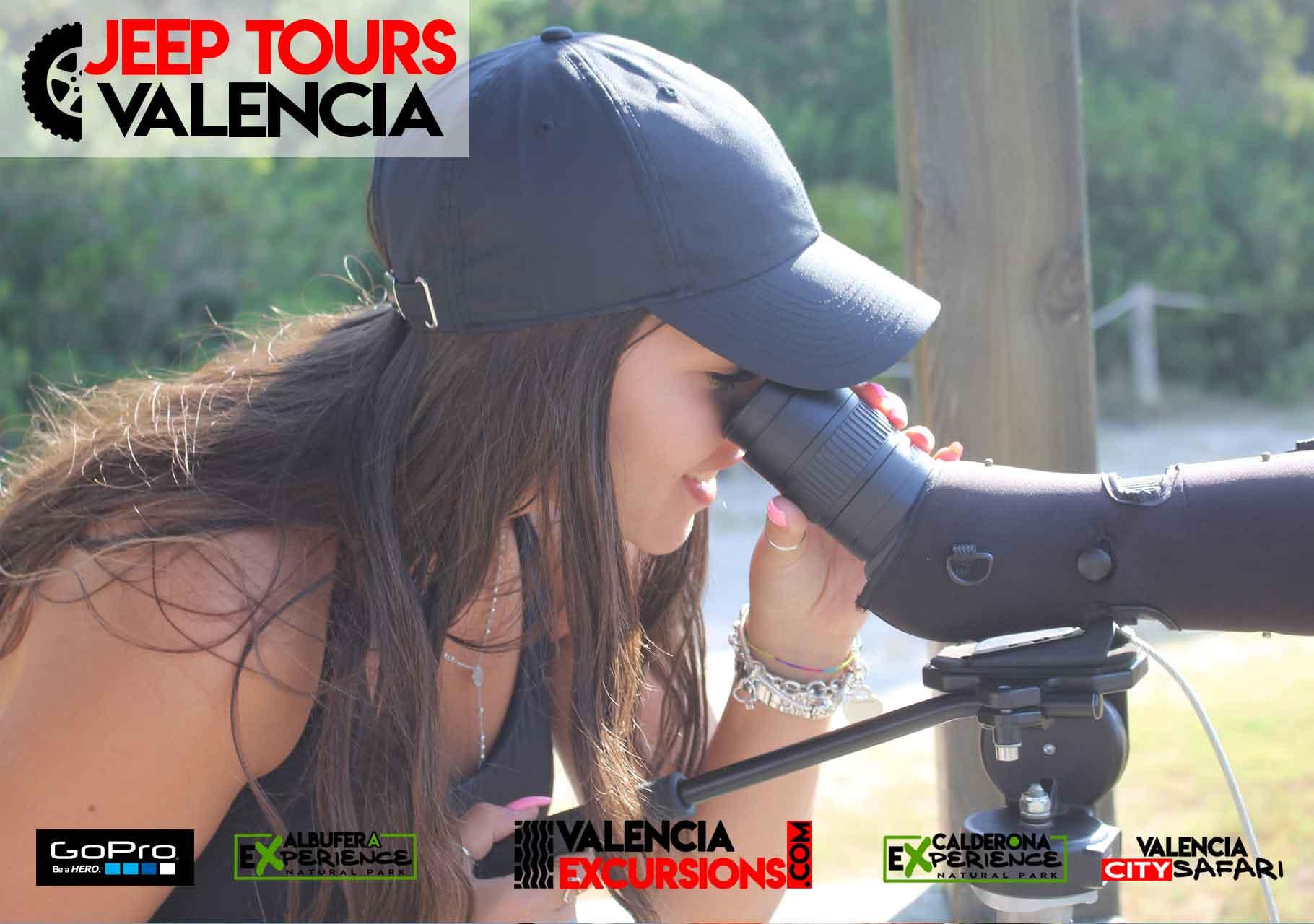 Vogelbeobachtung im Albufera  Park während unserer Albufera EXperience Jeep Tour. Best of  Valencia