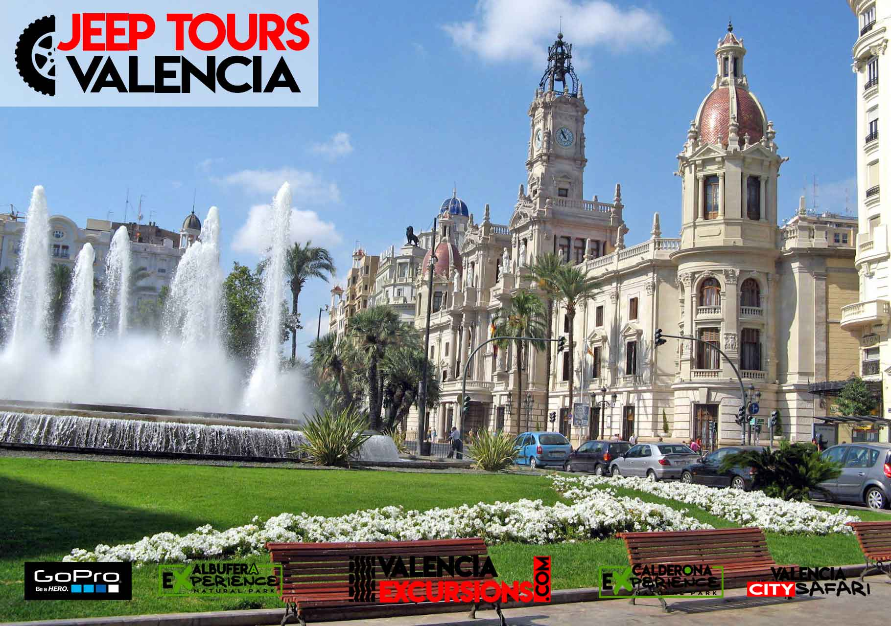 Jeep tour in Valencia City