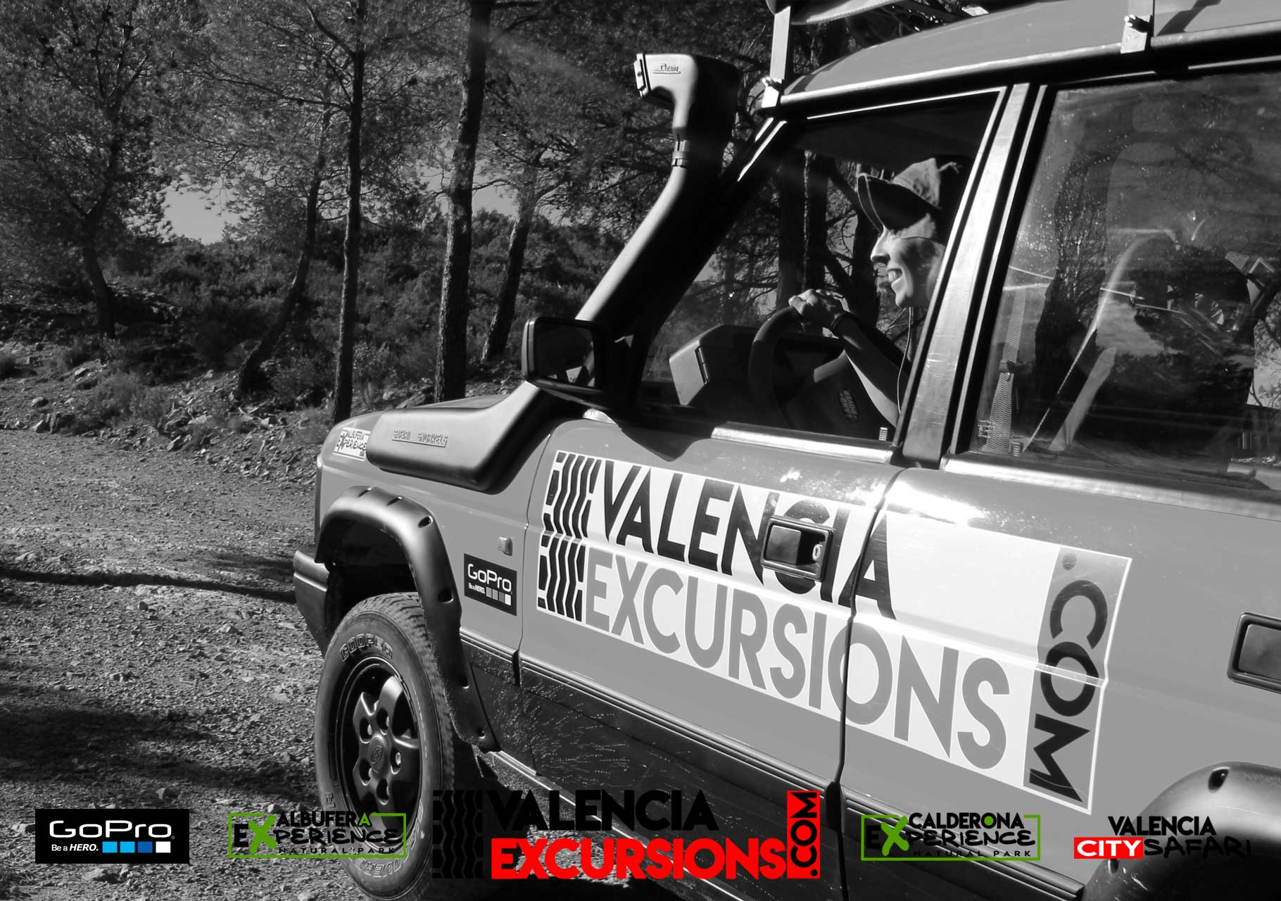 Sierra Calderona jeep adventure in Valencia. Offroad guided tour excursions with Valencia Excursions