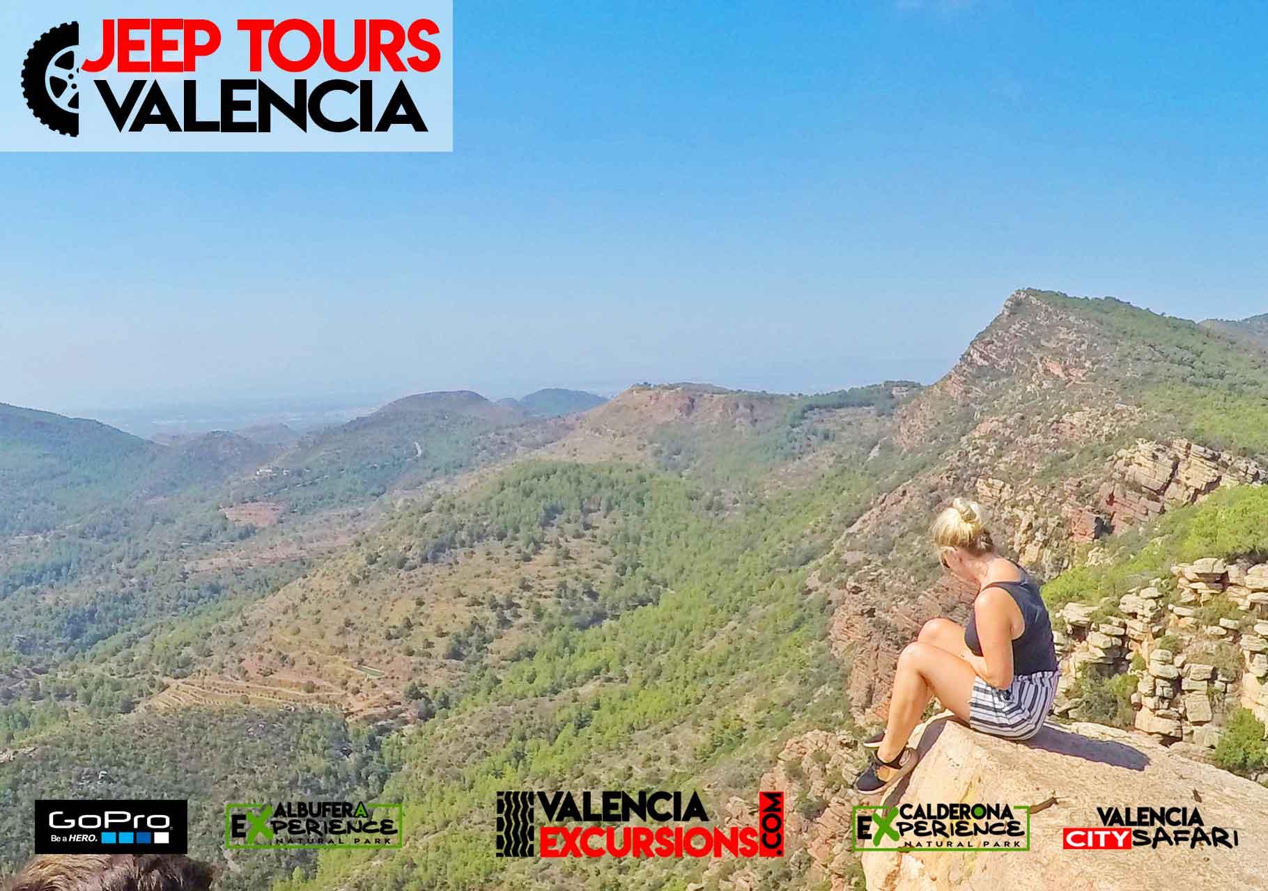 Halbtages Tour Valencia Abenteuer in den Bergen Calderona Natur Park. Fun Tour Valencia