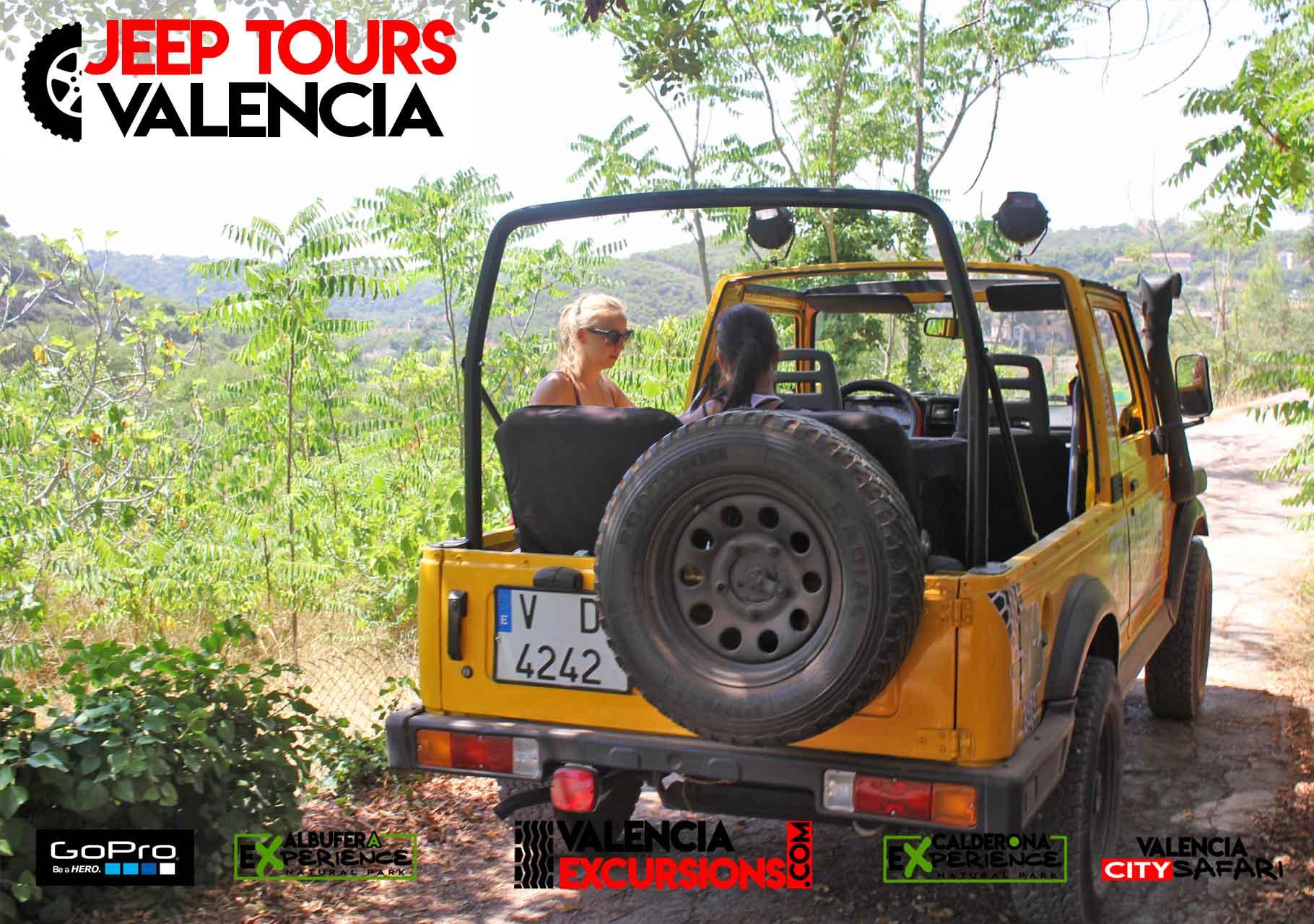 Valencia Excursions jeep tours Sehenswürdigkeiten Valencia und  Umgebung.
