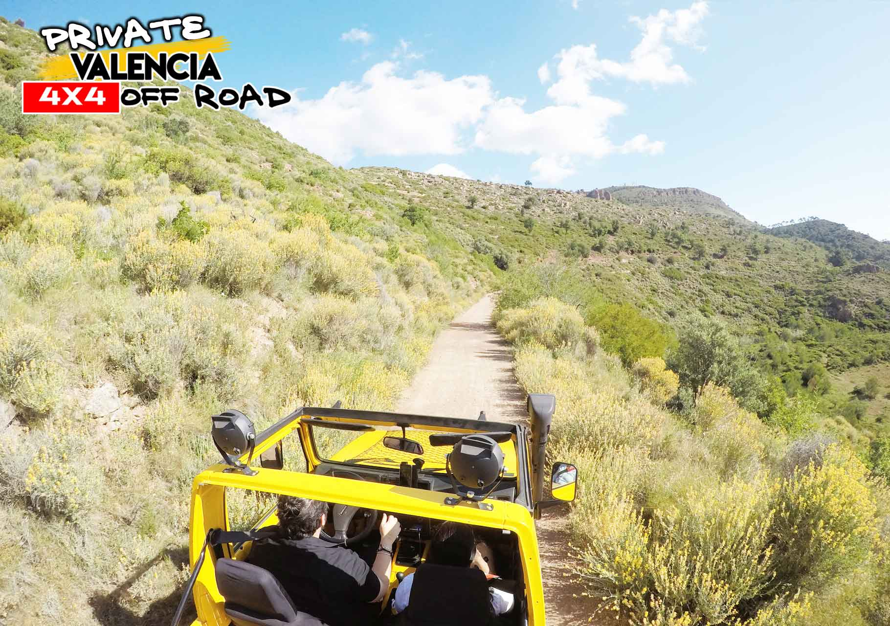 Private tour in Valencia mountains off road