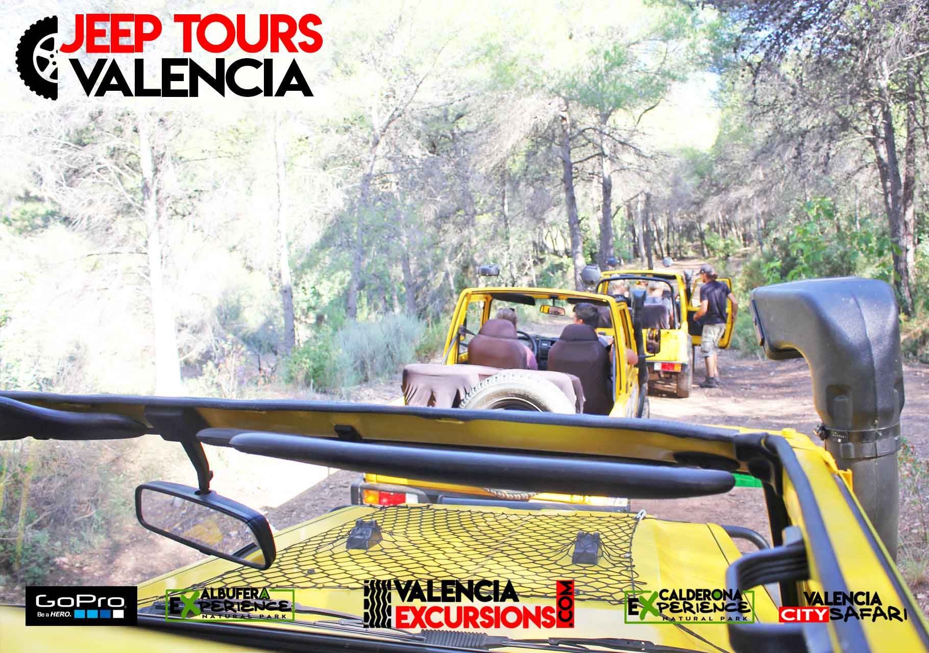 Geführte Off Road 4x4 Tour Valencia mit Jeeps. Was zu tun in Valencia- Valencia Excursions