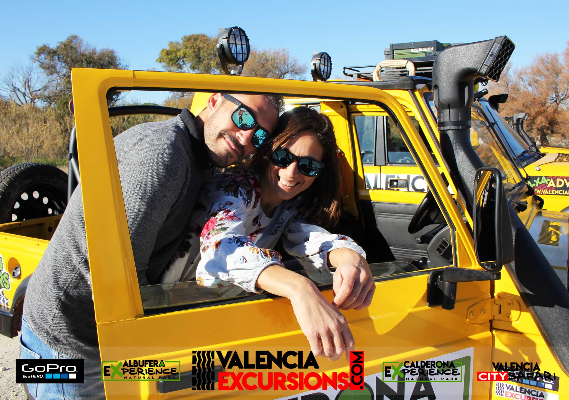 Excursions and tour for couples in Valencia. Albufera Experience 4x4 tour with boat trip included at Albufera Lake www.valenciaexcursions.com